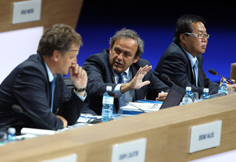 Michel Platini: spend what you earn