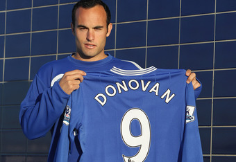 Donovan succeeded tremendously with Everton in the winter of 2010