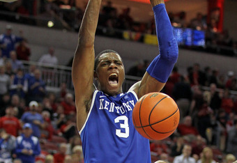 Terrence Jones Stuffs Cards In The Yum!