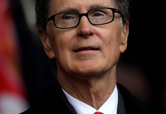 LIVERPOOL, ENGLAND - MAY 15:  Liverpool co-owner John W Henry watches the action during the Barclays Premier League match between Liverpool and Tottenham Hotspur at Anfield on May 15, 2011 in Liverpool, England.  (Photo by Michael Steele/Getty Images)