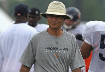 """Jerry Angelo was sent """"whistling dixie"""" by the Bears brass."""