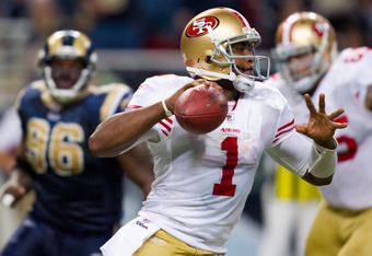 Former San Francisco 49ers quarterback Troy Smith