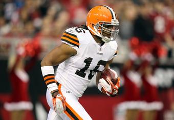 Cleveland Browns kick returner Joshua Cribbs
