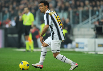 TURIN, ITALY - DECEMBER 04:  Fabio Quagliarella of Juventus FC in action during the Serie A match between Juventus FC and AC Cesena at Juventus Stadium on December 4, 2011 in Turin, Italy.  (Photo by Valerio Pennicino/Getty Images)