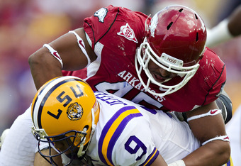 Highsmith returns in 2012 for the Hogs.