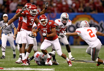 Will Davis return to lead Arkansas to another BCS Bowl game?