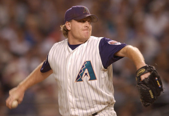 Schilling was MVP of the 2001 World Series after a tremendous game seven start.