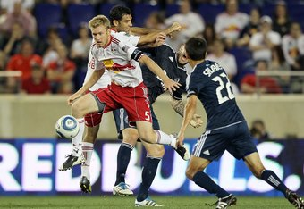 Ream in action for the New York Red Bulls