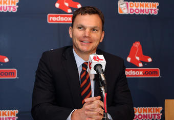 Ben Cherington will face scrutiny should the 2012 Red Sox fall short of expectations.