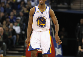 Ishmael Smith played six games with the Warriors this season, averaging 4.5 points and 1.5 assists.