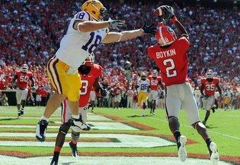 Georgia Bulldogs Football: Where Does Brandon Boykin Rank Among ...