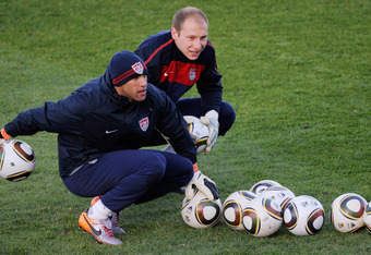 Both Tim Howard and Brad Guzan are goalkeepers in the Premier League