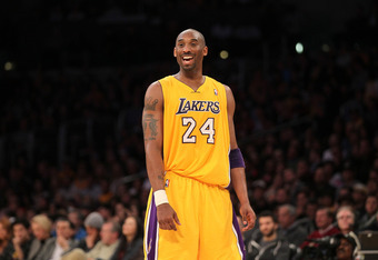 What Kobe's reaction would be to the Lakers getting D-Will and Howard