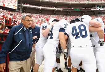 Paterno inspired generations of football players, and became one of the faces of college football during his career.