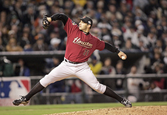 Andy Pettitte found himself pitching in the World Series for Houston after not returning to the Yankees following the 2003 season