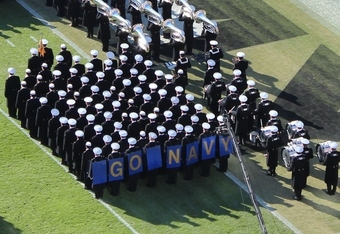 Midshipmen at 2011 Army Game (K.Kraetzer