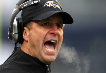 John Harbaugh and his coaching staff may have been a bit disorganized as the clock ran down in the AFC Title game.