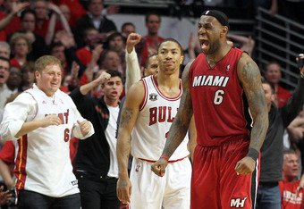 Despite clinching the top seed in the playoffs, Rose and the Bulls were eliminated in five games in the Eastern conference finals by LeBron James and the Miami Heat.