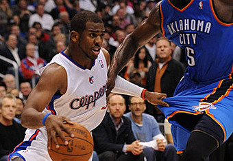 Chris Paul was the best player on the floor last night in Los Angeles.