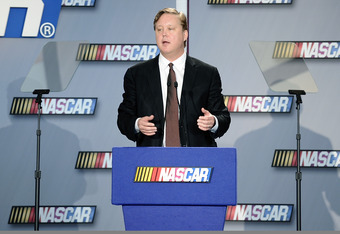 The genius behind it all; Brian France