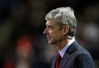 Wenger should be Salome's new victim. That'd please a great many fans.