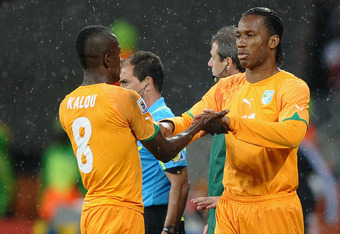 Drogba and Kalou will miss this match due to international duty