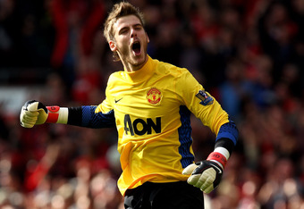 This could be a defining moment for de Gea