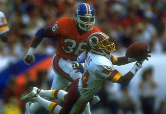 Gary Clark had 70 catches for 1,340 yards and 10 TDs in 1991.