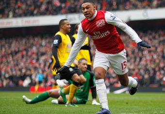 Arsenal's shining star