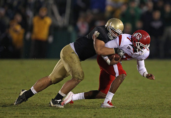 Manti Te'o surprised many by returning for the 2012 season, but it will be his last at Notre dame.