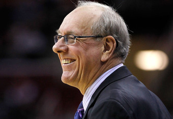 Fab Melo's return gives Jim Boeheim something to smile about.