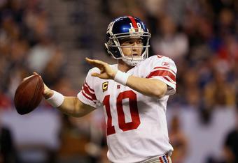 Eli Manning, calm under pressure.