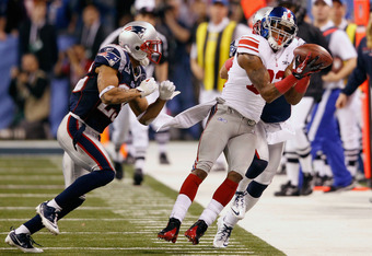 The play of the game, courtesy of Manning to Manningham.