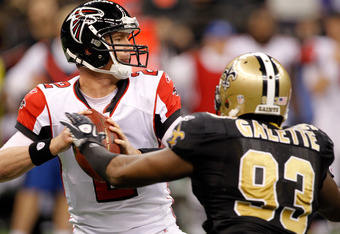 Junior Galetta is another player that the Saints would need if Smith is gone in 2012.