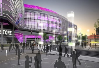 What the Kings new arena might look like. Photo courtesy of cowbellkingdom.com