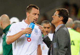 Capello resigned from the England managers job following the FA's decision to strip John Terry of the captaincy