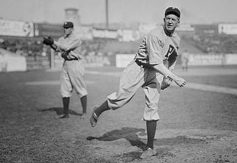 Grover Cleveland Alexander won 373 games, tossed 90 shutouts and threw one of the most legendary strikeouts in World Series history—but the Hall of Fame stopped calling after 1938.