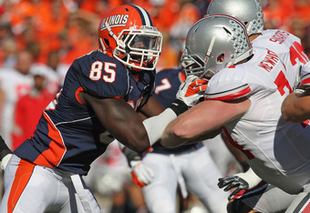 Whitney Mercilus was a one year wonder at Illinois but that one year is too good to over look