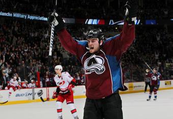 Ryan O'Reilly celebrates his overtime winner. Photo Credit: Michael Martin (Getty Images)