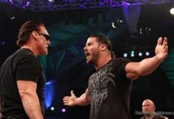 Sting and Bobby Roode