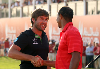 Robert Rock out-dueled Tiger in Abu Dhabi