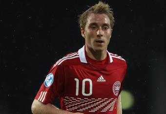 Eriksen was a big part of Denmark's qualification in Euro 2012
