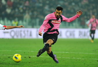 TURIN, ITALY - FEBRUARY 18:  Fabio Quagliarella of Juventus FC scores a goal during the Serie A match between Juventus FC and Catania Calcio at Juventus Arena on February 18, 2012 in Turin, Italy.  (Photo by Valerio Pennicino/Getty Images)