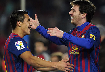 Sanchez and Messi have carried the team this past week.