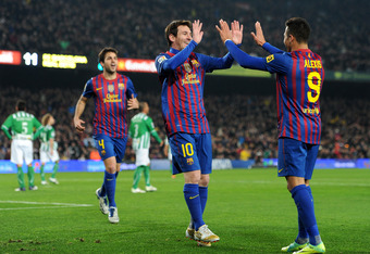 Fabregas, Messi and Alexis are three amazing players