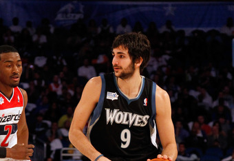 The best rookie point guard this season has been either Cleveland's Kyrie Irvin or Minnesota's Ricky Rubio.