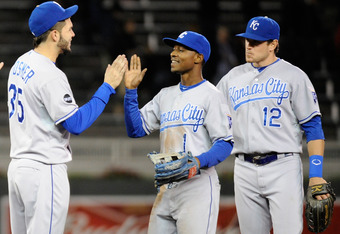 The fountains at Kauffman have proven to be fountains of youth, and this trio serves notice.