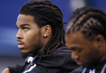 How do you value the top safety prospect when he is out of commission for draft season?