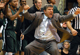 Loyola coach Jimmy Patsos is known for being emotional on the sidelines.