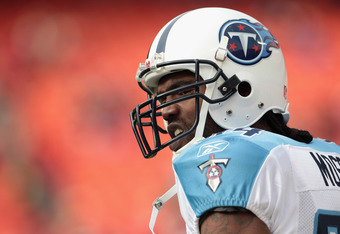The Titans were the third team that Moss played for in 2010, after splitting the first half of the season between New England and Minnesota.